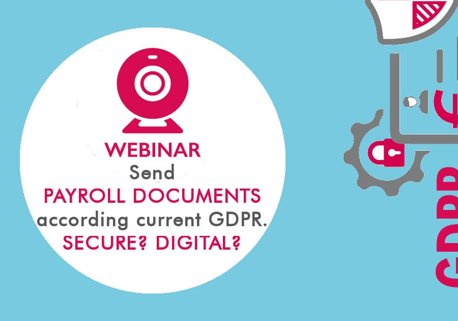 Webinar - Send payroll documents according to current GDPR