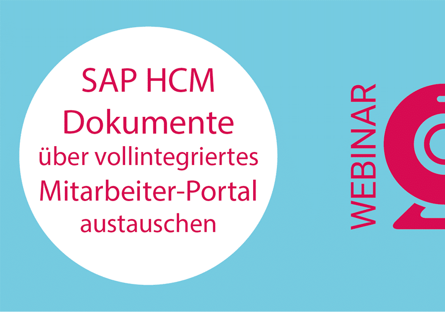 Webinar - Send payslips from SAP HCM to an employee portal versenden - Post